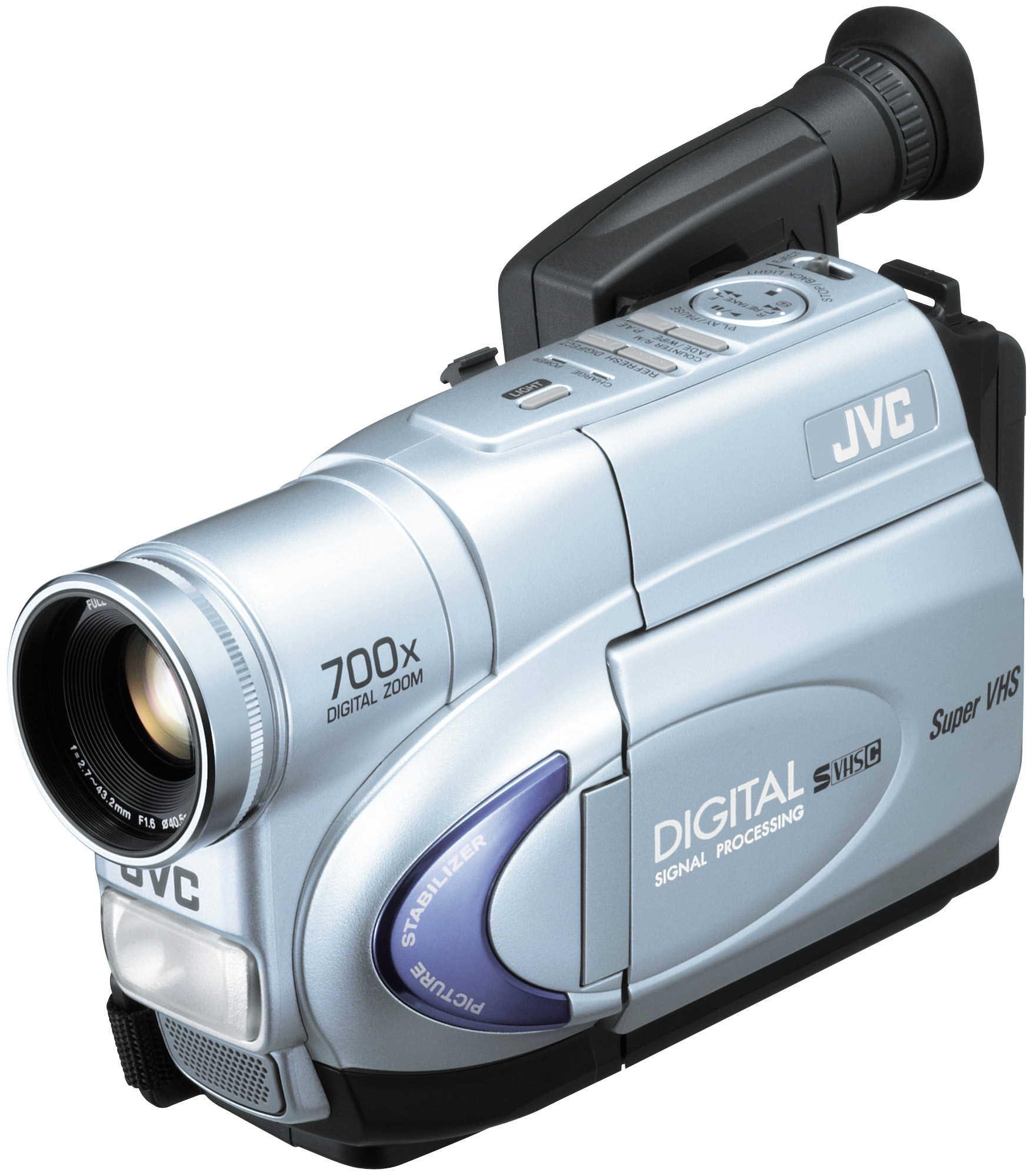 JVC GR SXM265US S VHS C Camcorder 16x Optical 700x Digital Zoom Refurbished