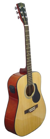 LH Leland Acoustic Guitar Package by Oscar Schmidt