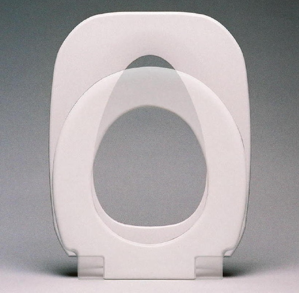 Tfi Elongated Seat 3 In 1 Commode With Splash Guard