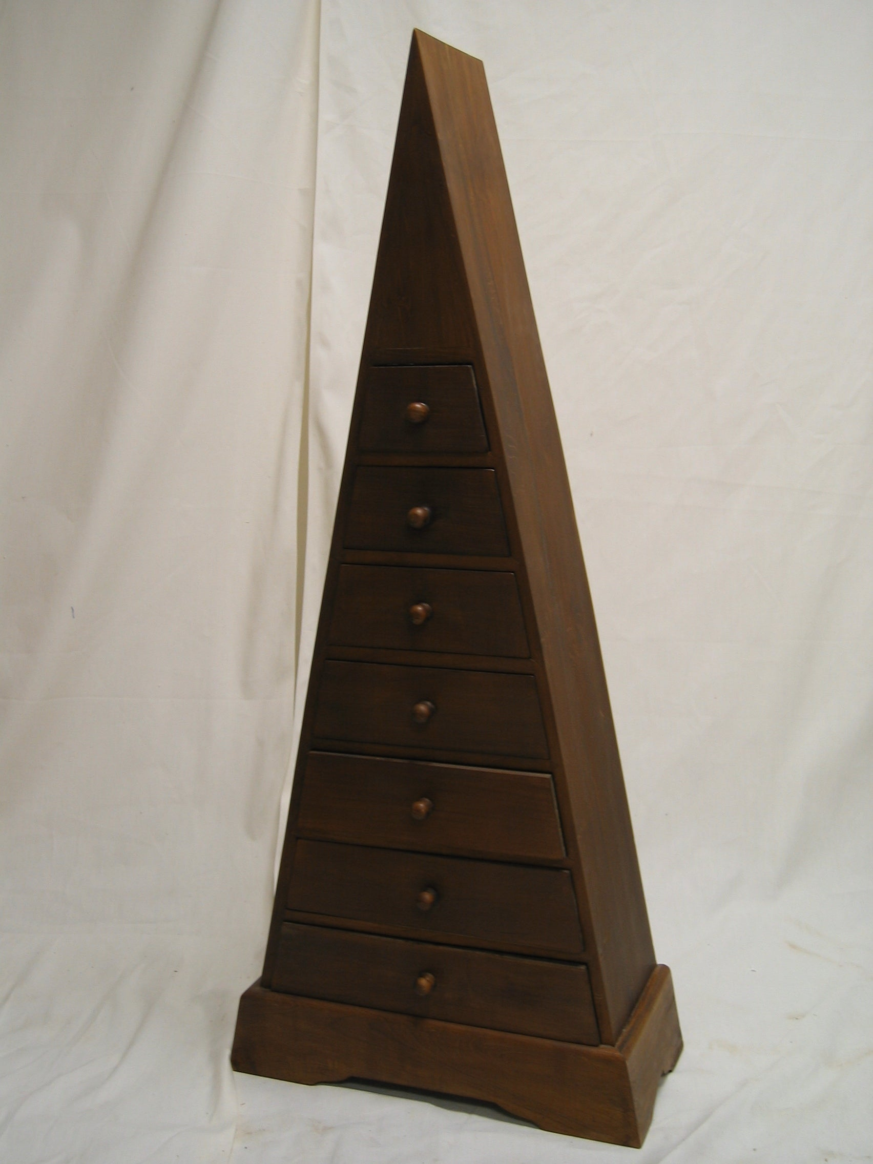 Mahogany Triangle Cabinet - Overstock Shopping - Great ...
