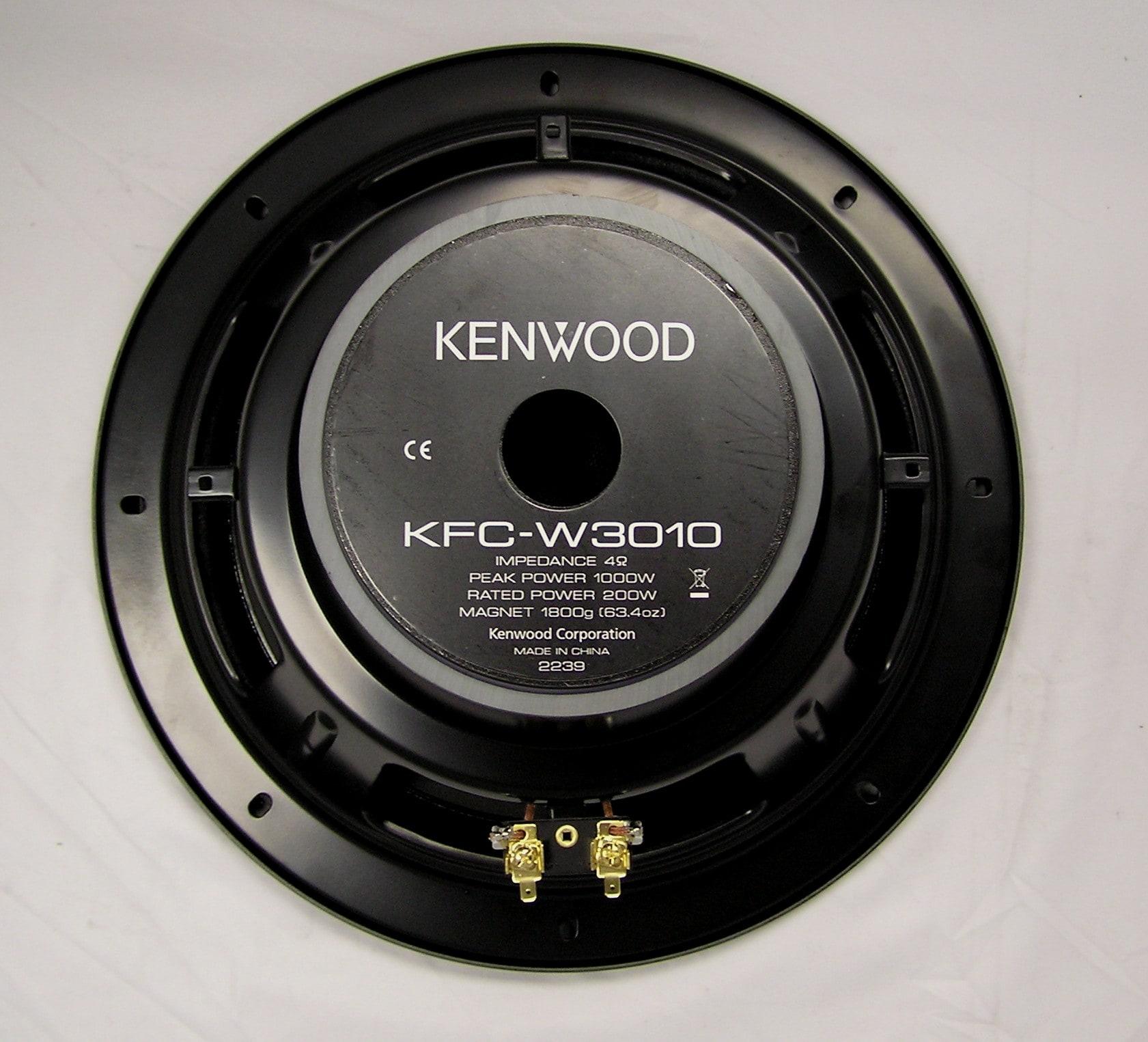 Kenwood KFC-W3010 12-inch 1000-watt Subwoofer