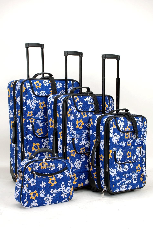 Hawaiian Luggage Luggage Set Hawaiian