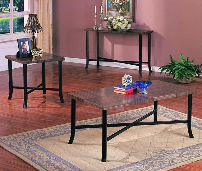Zebra Sofa Table
