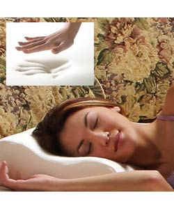 Memory Foam Contour Oversize Pillow (Pack of 6)