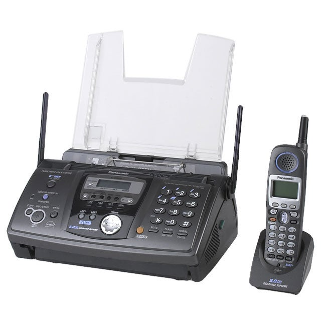 fax machine home phone line