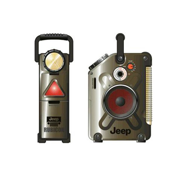 Jeep Jerry Can Flashlight/ Lantern/ Radio