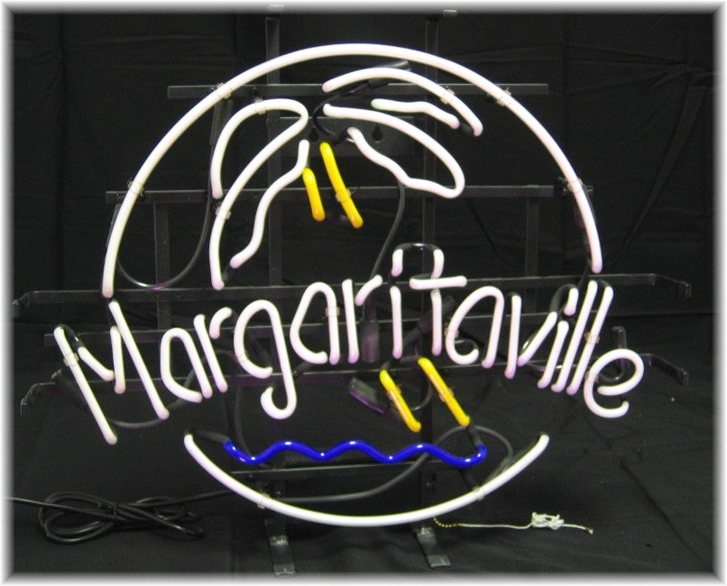 Jimmy Buffett's Margaritaville Neon Bar Sign