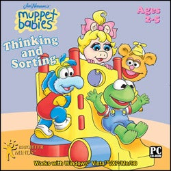 Muppet Babies Thinking and Sorting Software