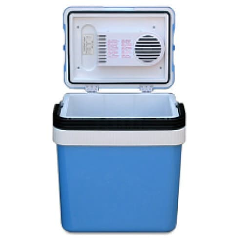 Coolers Electric Portable Heater : Whynter portable ac dc electric cooler heater