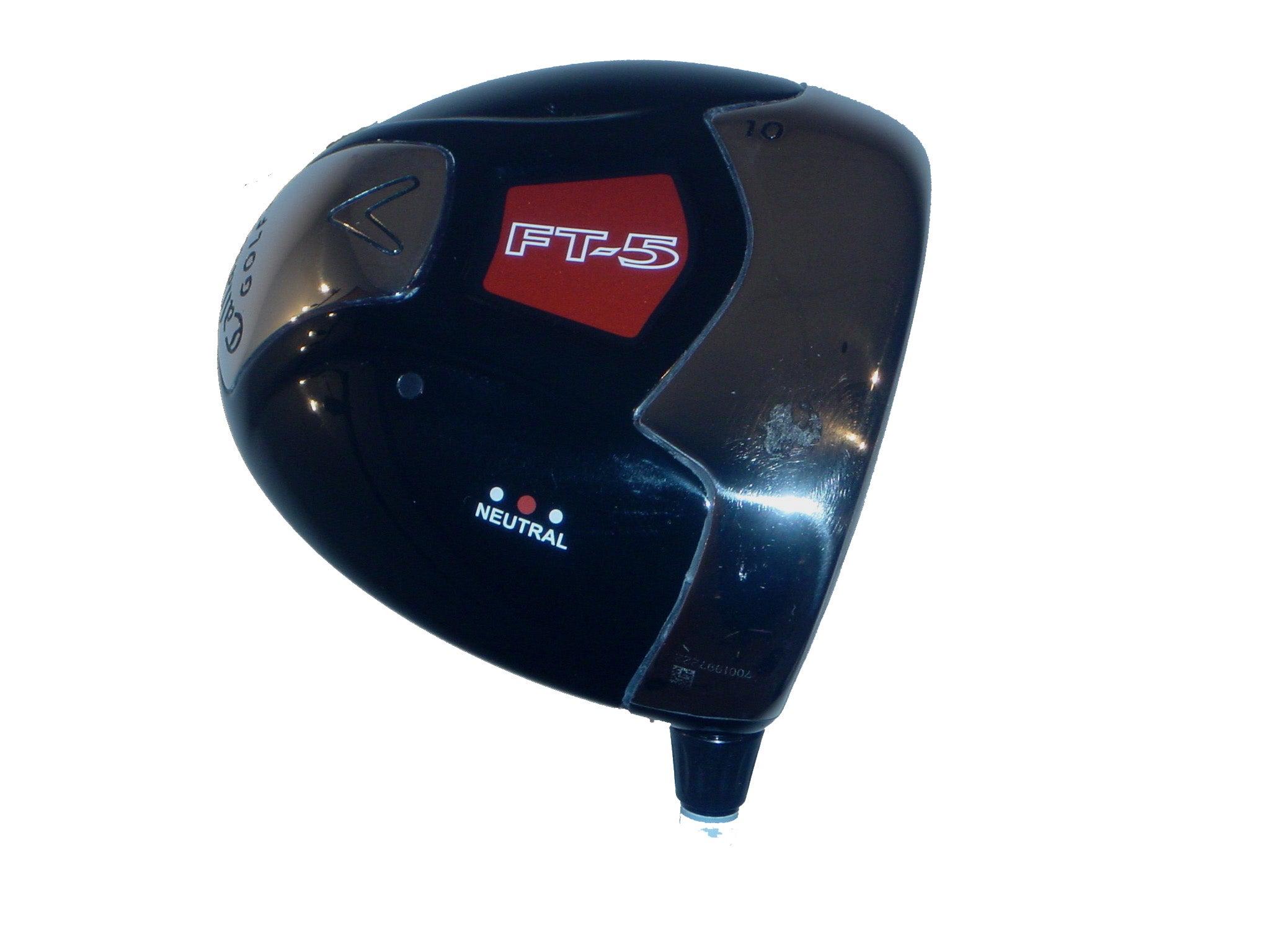 Callaway Fusion FT5 Golf Driver Neutral