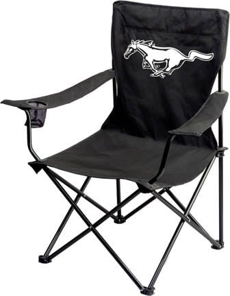 Mustang Pony Print Folding Chair