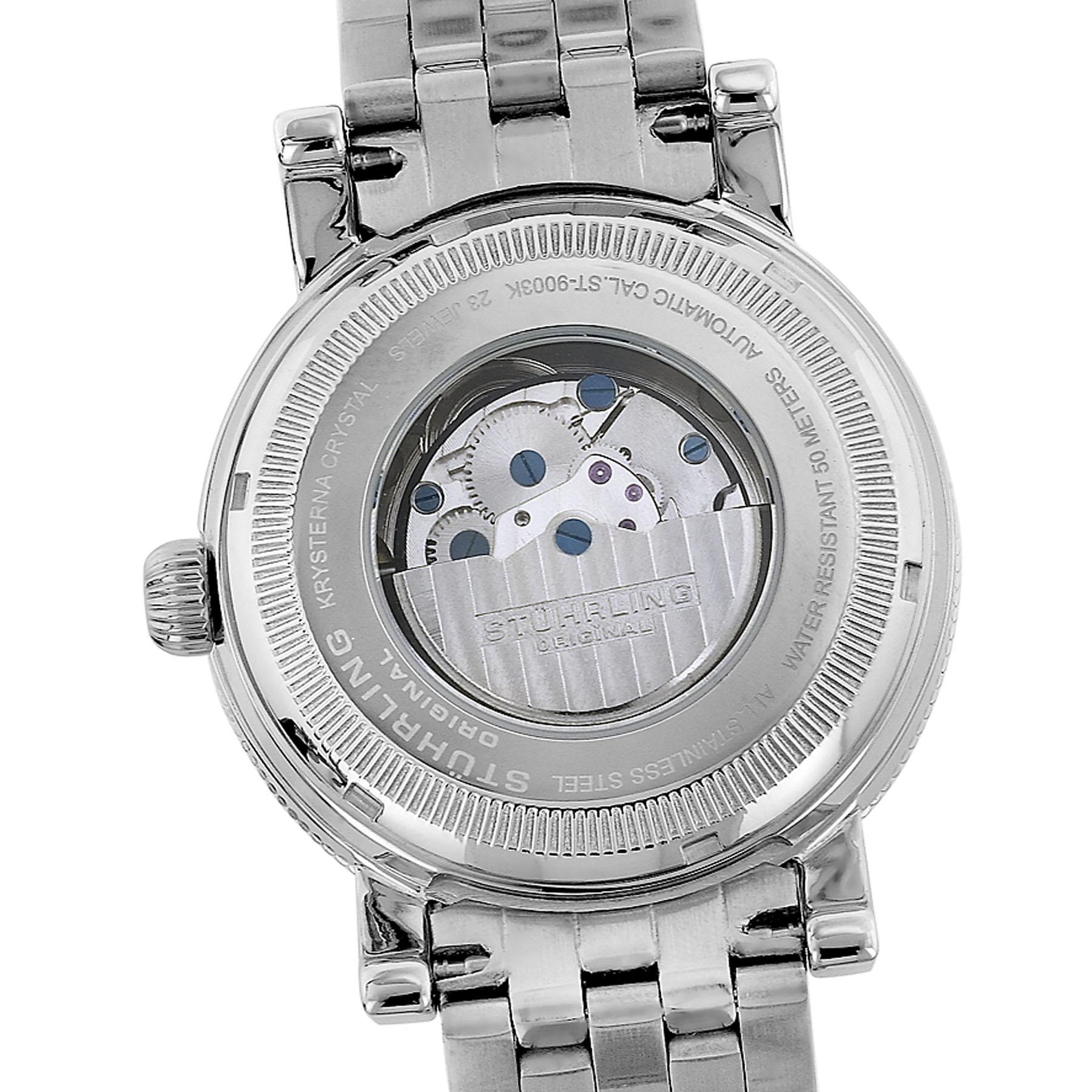 Stuhrling Tuskegee Elite Men's Luminous Dial Watch