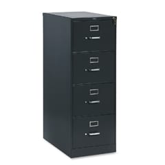HON 310 Series Four-Drawer Suspension Charcoal Legal File Cabinet