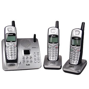 Vtech IA5874 5.8 GHz Handset Cordless Phone System (Refurbished)