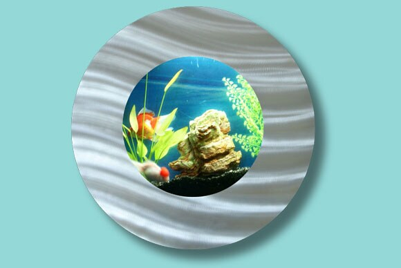 Artquarium Bubble Porthole Wall-mounted Aquarium