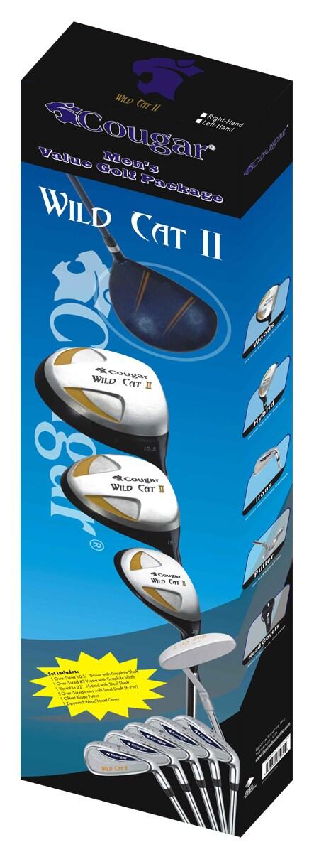 Cougar Wild Cat II 10-piece Men's Golf Club Set