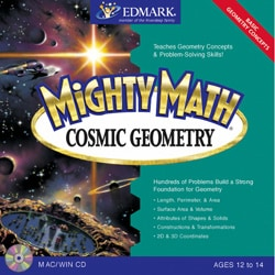 Mighty Math Cosmic Geometry Software