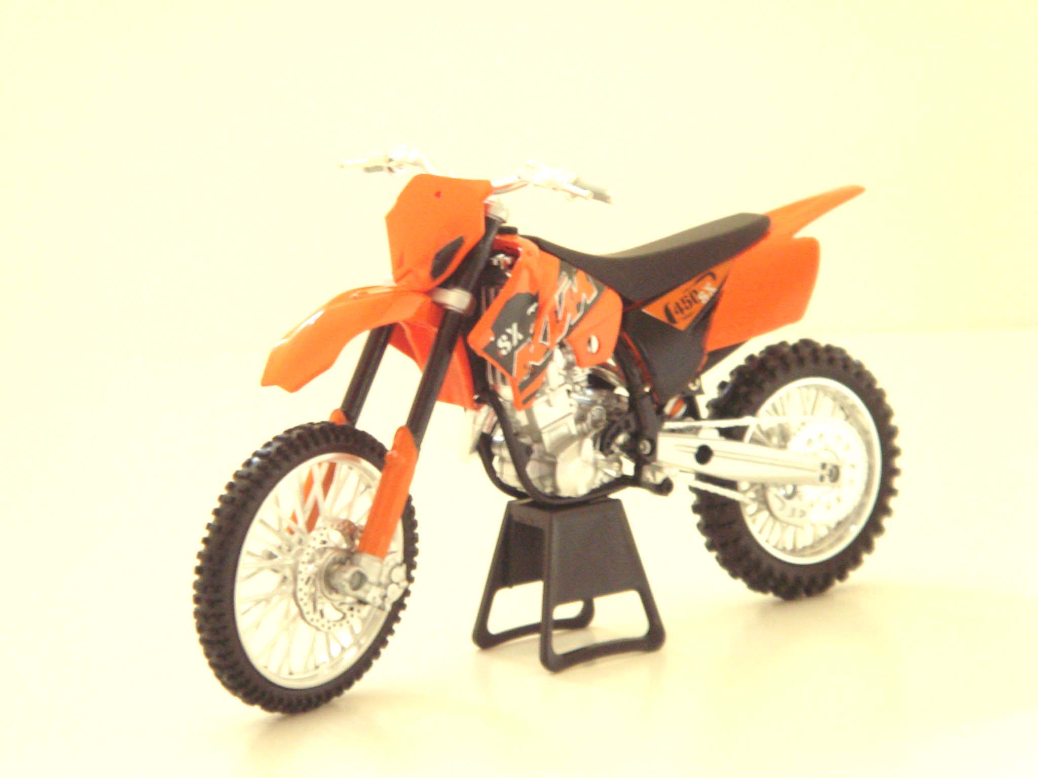 KTM 1:12 SX450 Motocross Collectible Motorcycle