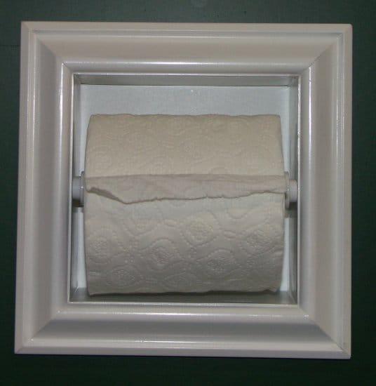 Recessed Toilet Paper Holder