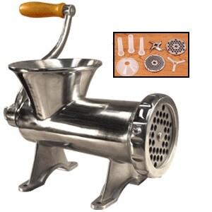 Manual Stainless Steel Number 22 Meat Grinder