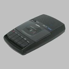 Cassette Tape Recorder, 3-Digit Tape Counter,Shoebox Type