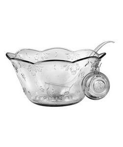 Anchor Hocking 18-piece Savannah Glass Punch Bowl Set (pack of 2)