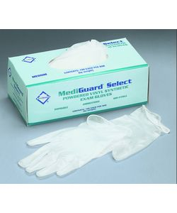 Medline Vinyl Powder-free Exam Glove - Large (Case of 1000)