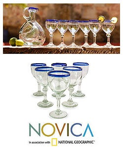 Acapulco 6-piece Wine Goblet Set (Mexico)
