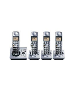 Panasonic KXTG1034 pk DECT 6.0 4-handset Phone (Refurbished)