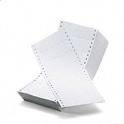Avery Dot Matrix Printer 3-inch White Addressing Labels - 5000/Box