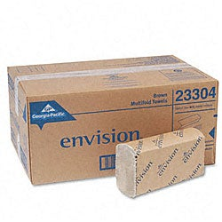 Georgia-Pacific Envision Embossed Paper Towels - 250/ Pack (16 Packs/ Carton)