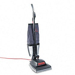 Hoover Guardsman Black Heavy-duty Bagless Upright Vacuum