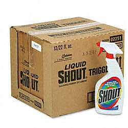 Shout Laundry Stain Remover - 12/Carton