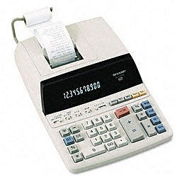Sharp EL1197PIII 2-Color Print Desktop Calculator