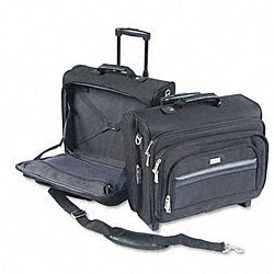 Dual-Access Rolling Notebook Computer Case/Overnighter