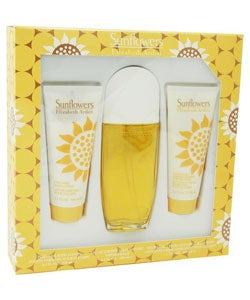 Sunflowers Women's Eau de Toilette 3-piece Gift Set