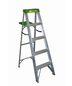 5 Foot Aluminum Step Ladder 11055833 Overstock Com