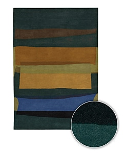 Hand-tufted Contemporary Mandara Area Rug (8' x 11')