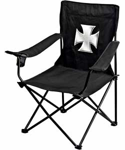 Iron Cross Folding Chair