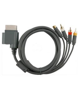 AV Composite and S-Video Cable for Microsoft Xbox 360
