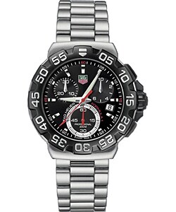 Tag Heuer Formula 1 Quartz Chronograph Men's Watch | Overstock.com