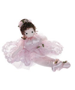 Ballerina Girl Collectible Musical Doll