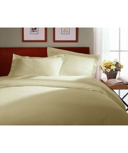 Natural Brushed Cotton Duvet Cover Set