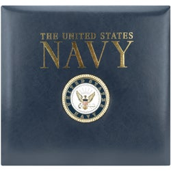 Postbound Navy Scrapbook Album