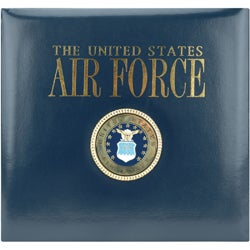 Postbound Air Force Scrapbook Album