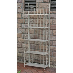 Large 5-tier Iron Folding Bakers Rack
