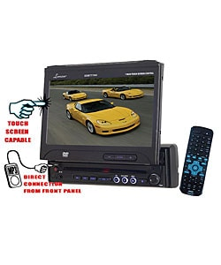 Lanzar In-dash 7-inch Touch Screen DVD/ CD Receiver (Refurbished)
