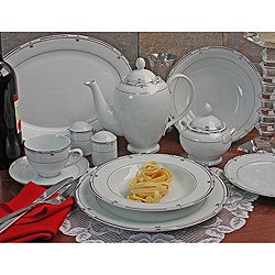 Rio Formal 49-piece Porcelain Dinnerware Set