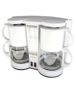 Gevalia Dual 12-cup Coffeemaker - 11160616 - Overstock.com Shopping - Great Deals on Gevalia ...