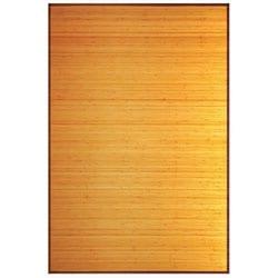 Camel Bamboo Rug (8' x 10')